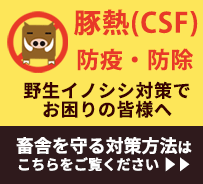 豚熱(CSF)の防疫・防除に役立つ情報ページです