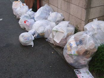 ゴミ対策なし