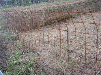 鳥獣被害対策用ワイヤーメッシュフェンス