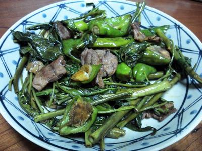シカ肉レシピ_炒め物