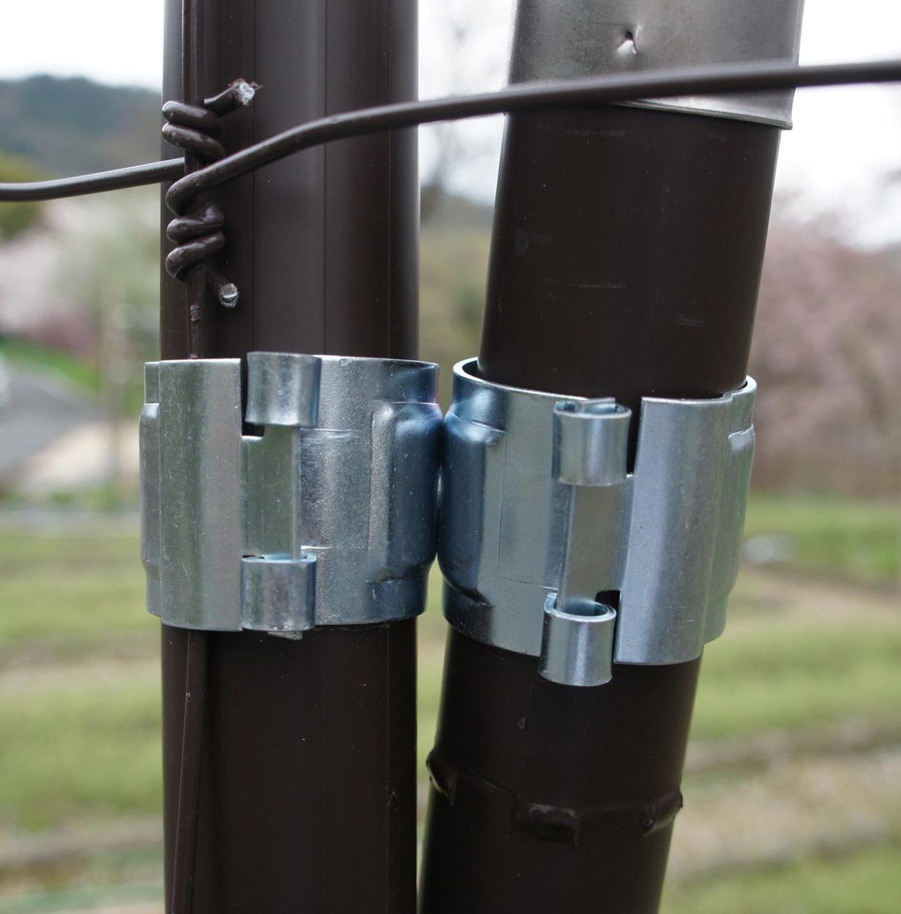 ワンタッチクリップクロス(控え支柱固定金具)